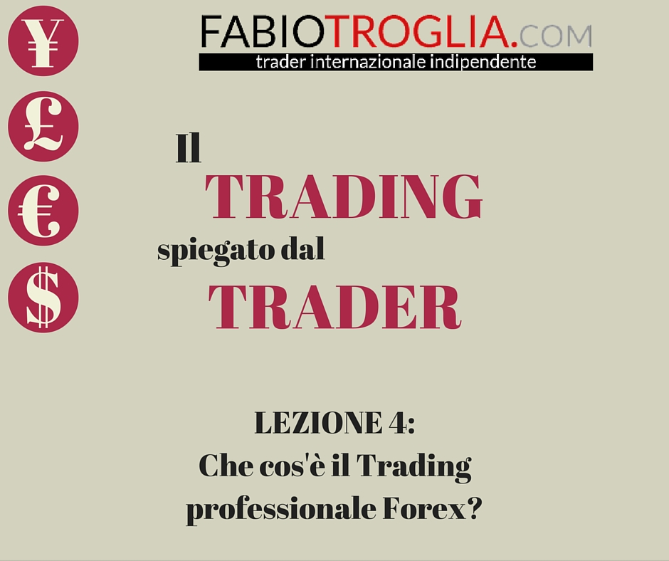 Trading professionale Forex
